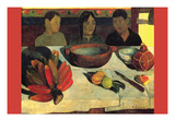 Still Life with Banana Premium Giclee Print by Paul Gauguin