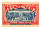 Eau Minerale Prints by  Myncke