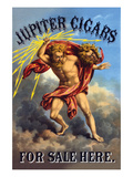 Jupiter Cigars for Sale Here Posters by F. Heppenheimer