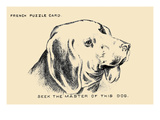Seek the Master of This Dog Prints by  Theo Leonhardt & Son