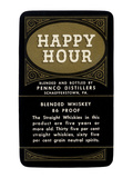 Happy Hour Blended Whiskey Prints