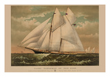 Yacht Norseman of New York Poster