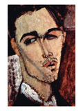 Portrait of Celso Laga Print by Amedeo Modigliani