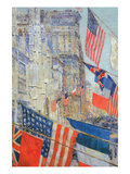 Day of Allied Victory, 1917 Premium Giclee Print by Childe Hassam