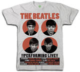 The Beatles - Performing Live Shirts