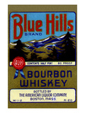 Blue Hills Bourbon Whiskey Prints