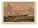 Yacht Jeannette Premium Giclee Print