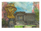 Franklin Institute Print by Noel Miles