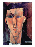Portrait of Raymond Prints by Amedeo Modigliani