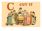 C Cut It Posters by Kate Greenaway