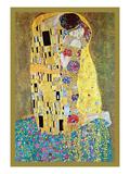 Gustav Klimt - Polibek Obrazy
