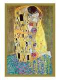 The Kiss Prints by Gustav Klimt