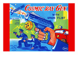 Cosmic Ray Gun Prints