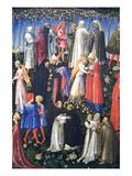 Paradis Giclee-tryk i høj kvalitet af Giovanni di Paolo