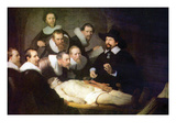 Anatomy of Dr. Tulp Posters par Rembrandt van Rijn 