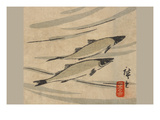 River Trout (Ayu Zu) Posters par Utagawa Hiroshige