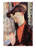 Portrait of Frank Burty Haviland Prints by Amedeo Modigliani