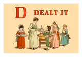 D Dealt It Art by Kate Greenaway