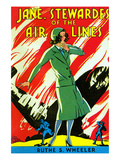 Jane, Stewardes of the Air Lines Prints by  Two Taylors