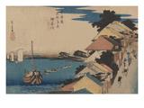 Kanagawa Poster by Ando Hiroshige