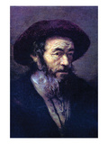 Old Man with a Fur Cap Prints by  Rembrandt van Rijn
