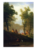 Wolf River, Kansas Prints by Albert Bierstadt