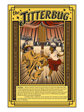 The Jitterbug Premium Giclee Print by Wilbur Pierce