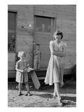 Migrant Mother and Children Premium Giclee Print by Dorothea Lange
