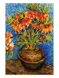 Fritillaries by Van Gogh Prints by Vincent van Gogh