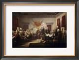 Signing of the Declaration of Independence Framed Giclee Print by John Trumbull