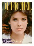 L'Officiel, June 1982 - Caroline de Monaco Posters by François Lamy