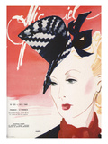 L'Officiel, May 1940 - Agnès Premium Giclee Print by  Lbenigni