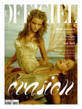 L&#39;Officiel, 2004 - Rosi et Britt en Roberto Cavalli Prints by Mark Squires