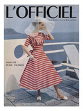 L'Officiel Posters by Philippe Pottier