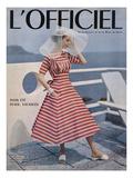 L'Officiel Premium Giclee Print by Philippe Pottier