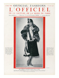 L'Officiel, November 1925 - Mlle Spinelly Ueva Arte por Madame D'Ora