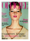 L&#39;Officiel, April 1999 - Sharon, dans une Des Couleurs Phare de L&#39;&#201;t&#233;, un Pull de Louis Vuitton Prints by Jeff Bark