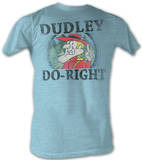 Rocky & Bullwinkle - Dud Do Right T-shirts