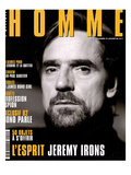 L'Optimum, December 1997-January 1998 - Jeremy Irons Premium Giclee Print by Karl Dickenson