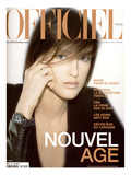 L'Officiel, November 2000 - Agatha Premium Giclee Print by Nicolas Hidiroglou