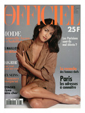 L'Officiel, May 1994 - Yasmeen Ghauri Posters by Francesco Scavullo