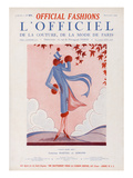 L'Officiel, September 1924 - Faut Dire Oui Premium Giclee Print by  Martial et Armand