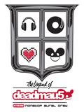 deadmau5, the legend of - Electro -  Nonstop Aural Orgy Plakat
