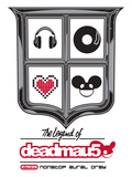 deadmau5, the legend of - Electro -  Nonstop Aural Orgy Poster