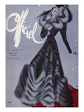 L'Officiel, September 1937 - L. Mendel Premium Giclee Print by  Lbenigni