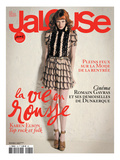 Jalouse, July-August 2010 - Karen Elson Poster by Édouard Plongeon