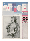 L'Officiel, January 1931 - Mme Gaby Mono Prints by Madame D'Ora & A.P. Covillot