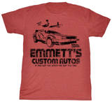 Back To The Future - Emmetts Camiseta