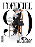L'Officiel, October 2011 - Tavi Gevinson Prints by Jean-Paul Goude