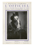 L'Officiel, January 1926 - Mlle Olga Pouffkine Prints by  Madame D'Ora